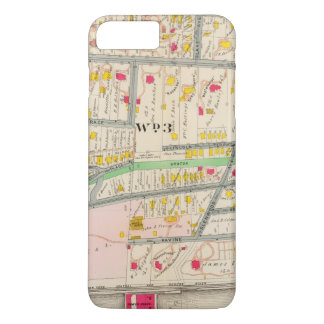Yonkers NY Map iPhone 8 Plus/7 Plus Case