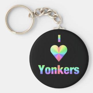 Yonkers -- Pastels Key Ring