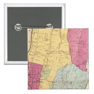 Yonkers, Town 15 Cm Square Badge