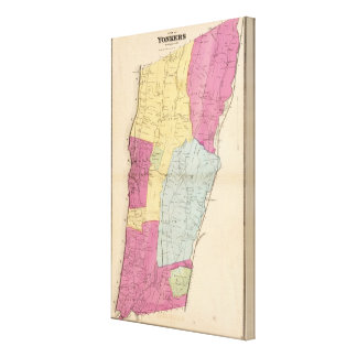 Yonkers, Town Canvas Print
