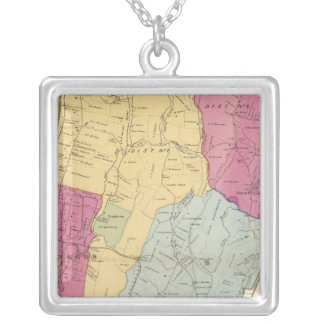 Yonkers, Town Silver Plated Necklace