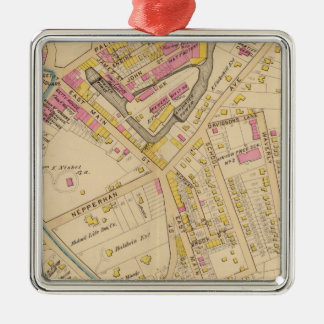 Yonkers wards 1-3, New York Christmas Ornament