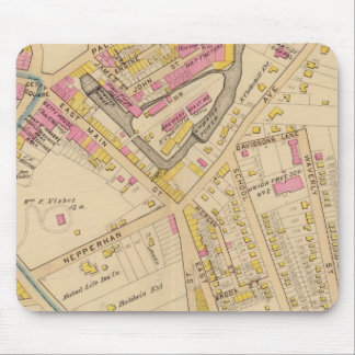 Yonkers wards 1-3, New York Mouse Mat