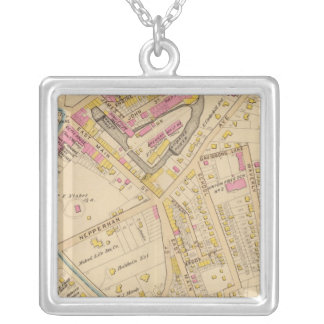 Yonkers wards 1-3, New York Silver Plated Necklace