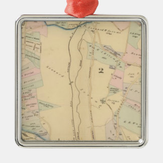 Yonkers wards 1-4, New York Christmas Ornament