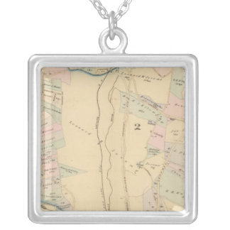 Yonkers wards 1-4, New York Silver Plated Necklace