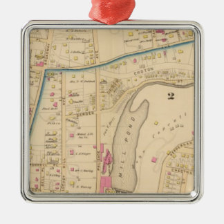 Yonkers wards 2-3, New York Christmas Ornament