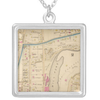 Yonkers wards 2-3, New York Silver Plated Necklace