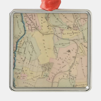 Yonkers wards 3-4, New York 2 Christmas Ornament