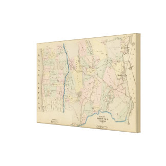 Yonkers wards 3-4, New York Canvas Print