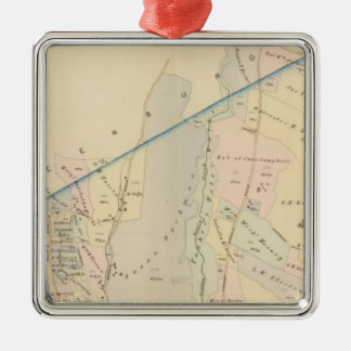 Yonkers wards 3-4, New York Christmas Ornament