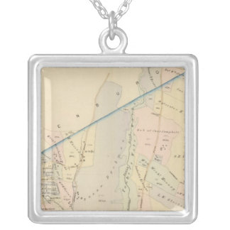Yonkers wards 3-4, New York Silver Plated Necklace