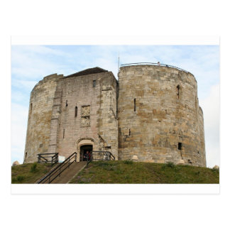 York Castle, England, United Kingdom Postcard