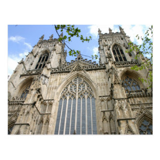 York Cathedral Postcard