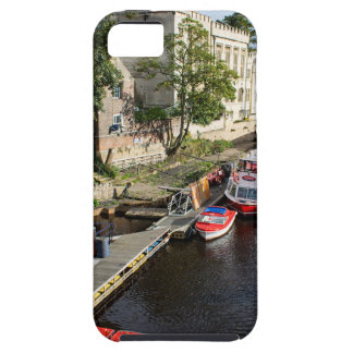 York City Guildhall and red boats iPhone 5 Case