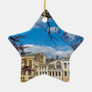 York City Guildhall river Ouse Ceramic Star Decoration