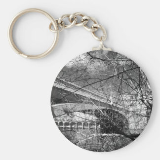 York City river landscape Key Chains