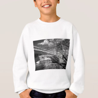 York City river landscape Sweatshirt
