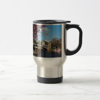 York City river landscape Travel Mug