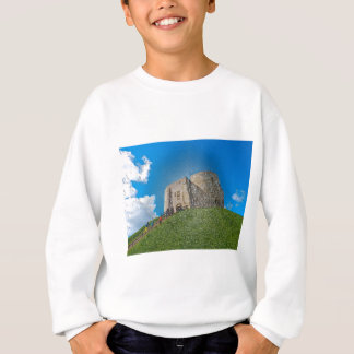 York, Cliffords tower in plastic Sweatshirt
