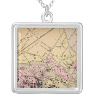 York County, Maine Silver Plated Necklace