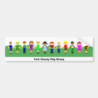 York County Play Group 4 Bumper Sticker