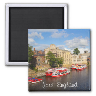 York, England, fridge magnet