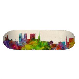 York England Skyline Skate Board Decks