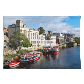 York Guildhall and river Ouse Placemat