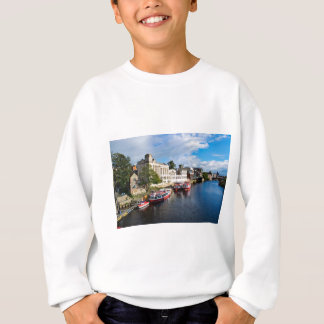 York Guildhall and river Ouse Sweatshirt