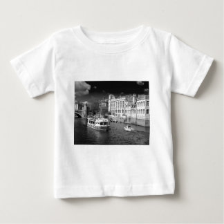 York Guildhall with river boat Baby T-Shirt