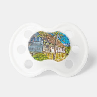 York Hospitium with added textures Baby Pacifiers
