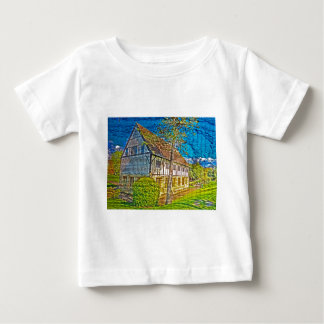 York Hospitium with added textures Baby T-Shirt