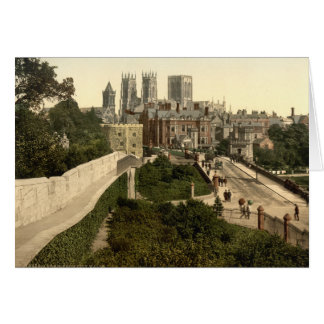 York I, Yorkshire, England Card