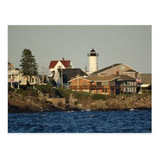 York Maine and Nubble Lighthouse Postcard
