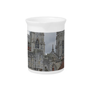 York Minster and Bootham Bar Pitcher