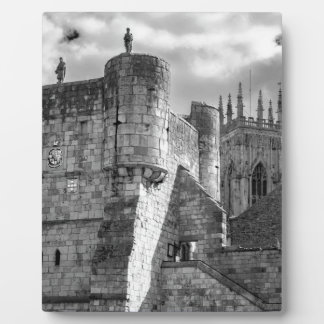 York Minster and Bootham Bar Plaques