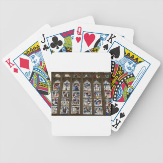 York Minster Great East Window. Bicycle Playing Cards