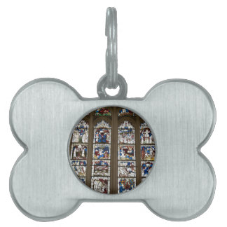 York Minster Great East Window. Pet ID Tag