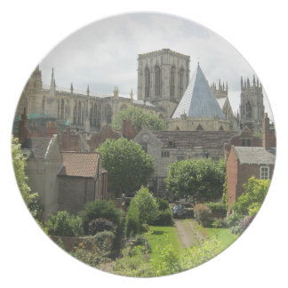York Minster in the Morning Party Plate
