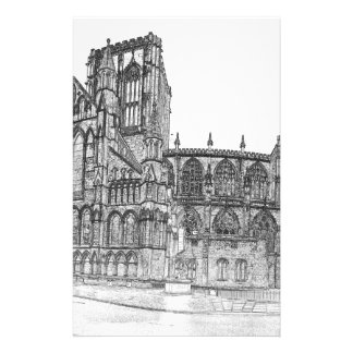 York Minster in the wide Stationery