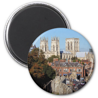 York Minster 6 Cm Round Magnet