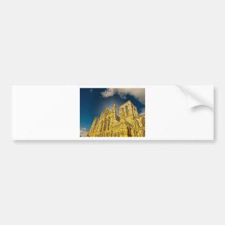 York Minster special effect Bumper Sticker