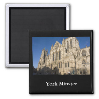 York Minster Square Magnet