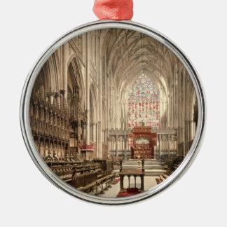 York Minster, York, Yorkshire, England Christmas Ornament
