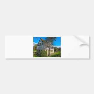 York,museum gardens,hospitium, plastic. bumper stickers