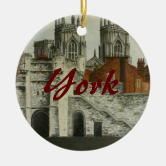 York painting - England Christmas Ornament