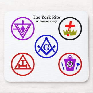 York Rite Mousepad