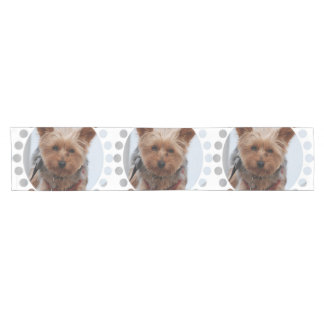 York Terrier Dog Short Table Runner