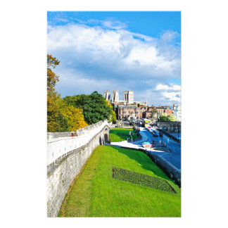 York Walls and Minster Customised Stationery
